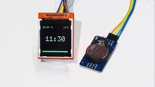 Модуль часов DS3231: Обзор, подключение к Arduino, настройка и работа(Подробный обзор модуля RTC DS3231, схема подключения к Arduino, установка времени, пример скетча для работы с часами..., 2016-09-15T20:54:52.000Z)