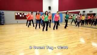 Oh My Love (Maggie Gallagher) - Line Dance (Dance & Teach in English & 中文)