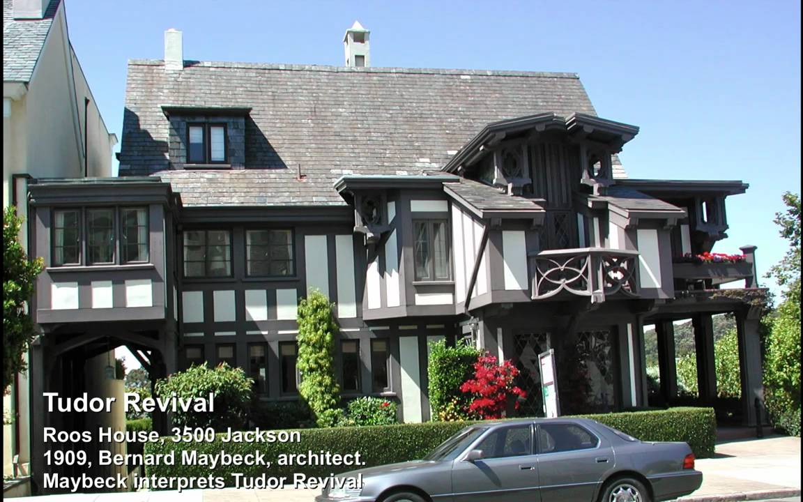 Tudor Revival San Francisco Residential Architectural