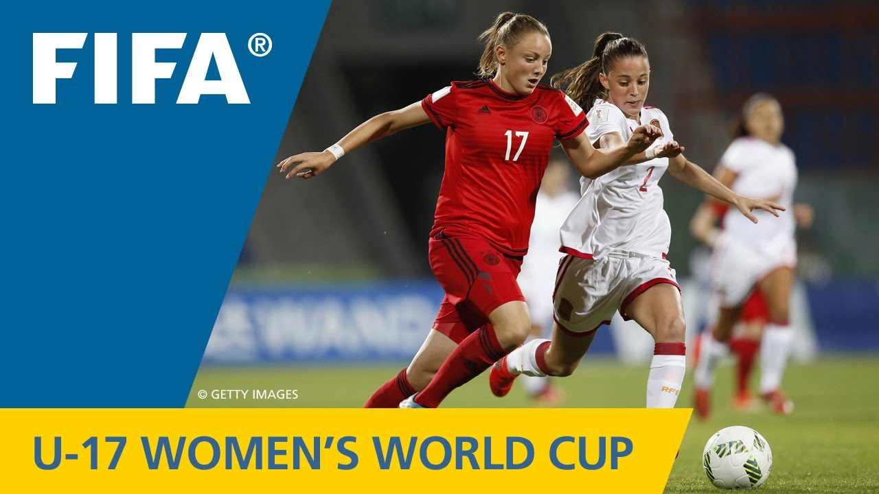 Match 26: Germany v Spain - FIFA Women's U17 World Cup Jordan 2016