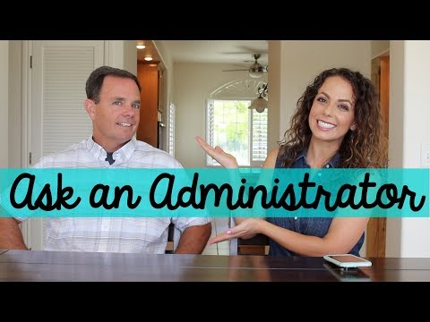 ask an administrator!