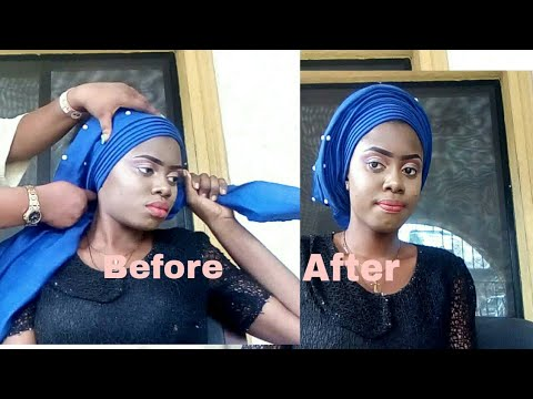 Download How to tie round gele with ashoke.