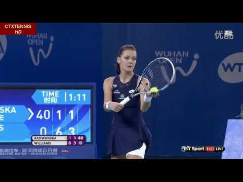 Venus Williams VS Agnieszka Radwanska Highlight Wuhan 2015