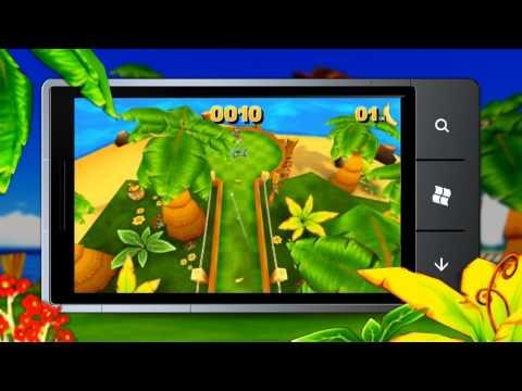 Monkey Mini Golf Trailer