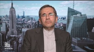 Iran's ambassador to the UN blames 'U.S. bullying' for decision on nuclear treaty