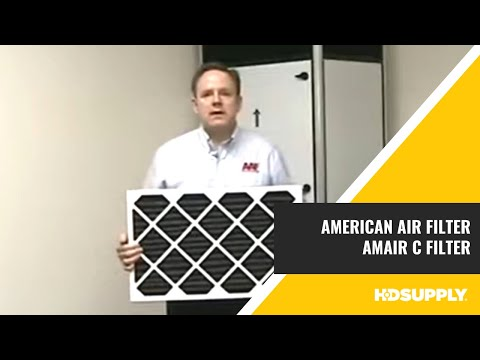 American Air Filter AmAir C Filter  HD Supply Facilities Maintenance