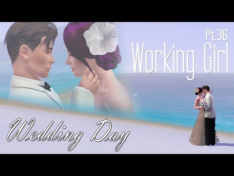 The Sims 3 | The Working Girl (Part 36) - Winter Wedding