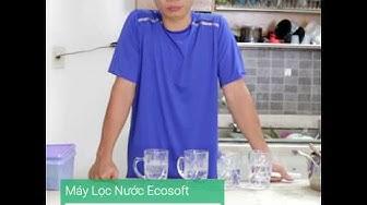 Hướng dẫn test nước từ máy lọc nước R.O