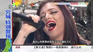 Against The Current On Japan TV Show