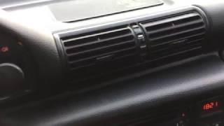BMW E36 Странный звук трения