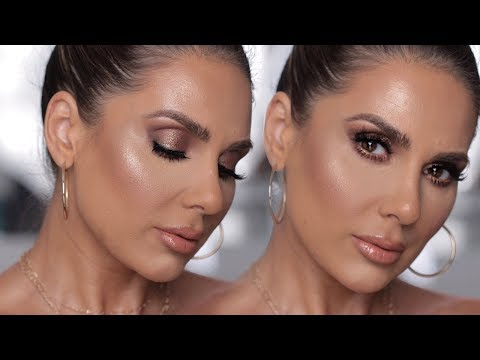 J LO INSPIRED BRONZY LOOK  | MAKEUP TUTORIAL |  ALI ANDREEA