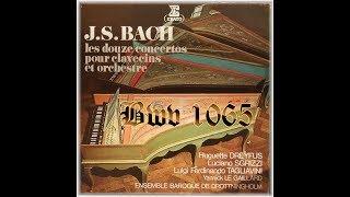 J-S BACH Concertos pour 4 clavecins BWV 1065