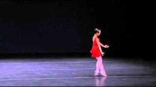 Regina Montgomery YAGP Finals 2011 Variation from Diana and Acteon