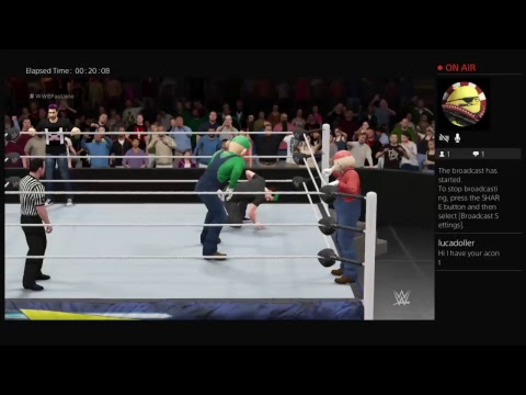 Tag Team Match 1st Round (Custom Creations)