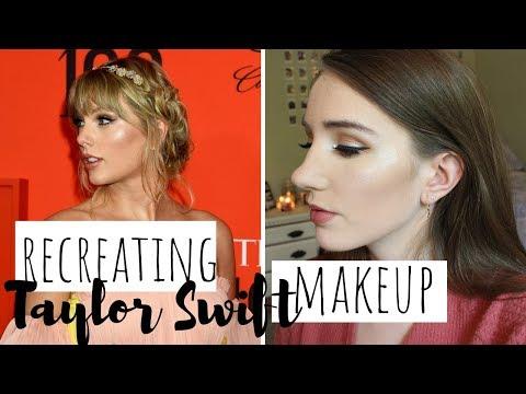 Recreating Taylor Swift's Time 100 Gala Makeup