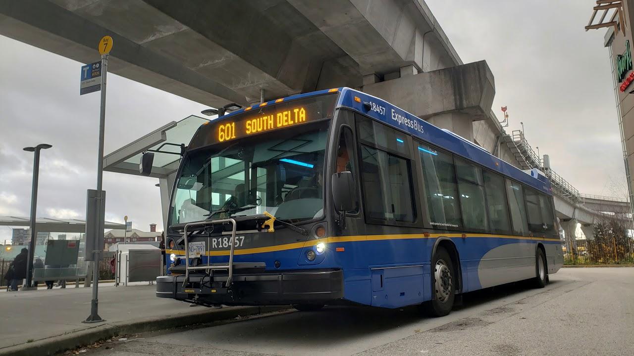 New Bus Vancouver Translink 2018 Novabus Lfs Suburban