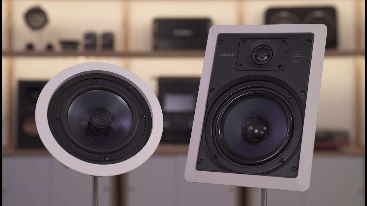 Polk Audio Rc Series In Wall And In Ceiling Speakers Crutchfield