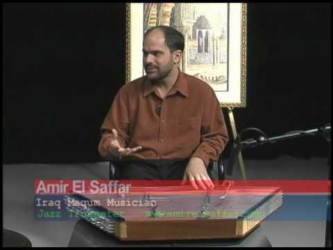 Iraqi Maqam, Santoor, with Amir El Saffar  (Workshop) Part 2, on Arab TV