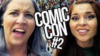 MOIST INTERVIEWS AT COMIC CON DAY 1 (Lunchy Break)