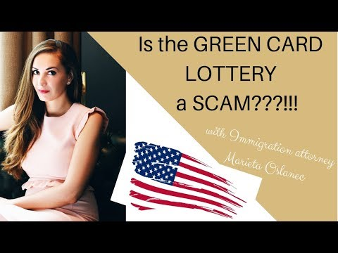 GREEN CARD LOTTERY USA | IS IT A SCAM?! 🇺🇸👀✔️