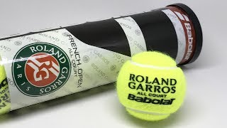 Babolat French Open All Court Tennis Balls in 4K