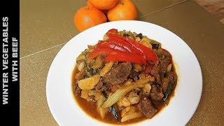 Beef Curry with Winter Mixed Vegetables