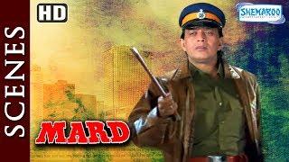 Mithun Chakraborty [HD] Mard [1998] Action Scene Compilation - Bollywood Movie - Best Action