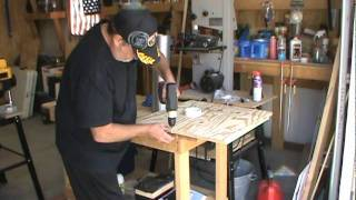"""How To Make A Wood Chip Collector System For A 13"""" Planer .mpg"""