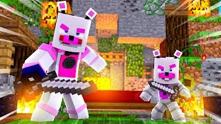 Helpy Is A Bed Wars Pro! Minecraft FNAF Roleplay