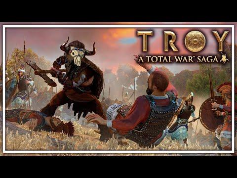 BATALLA POR LESBOS - TOTAL WAR TROY Gameplay Español Ep3
