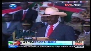 Raila's speech during Jamhuri day