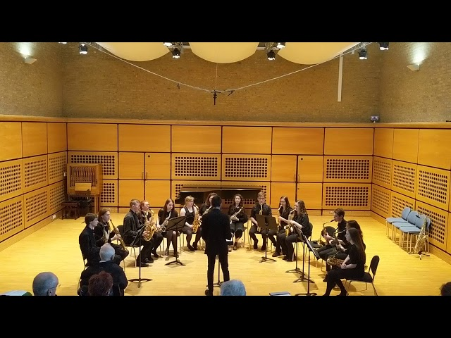 Blowsoc Saxophone Ensemble: Celtic Suite