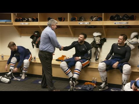 GAME 6 | Oilers Locker Room