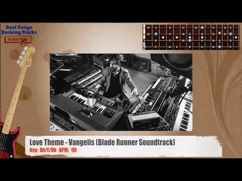 Love Theme - Vangelis (Blade Runner Soundtrack) Bass Backing Track