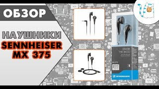 ОБЗОР НА НАУШНИКИ SENNHEISER MX 375