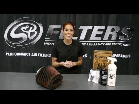 S&B Filters - How to Service Your S&B Cotton Cleanable Filter