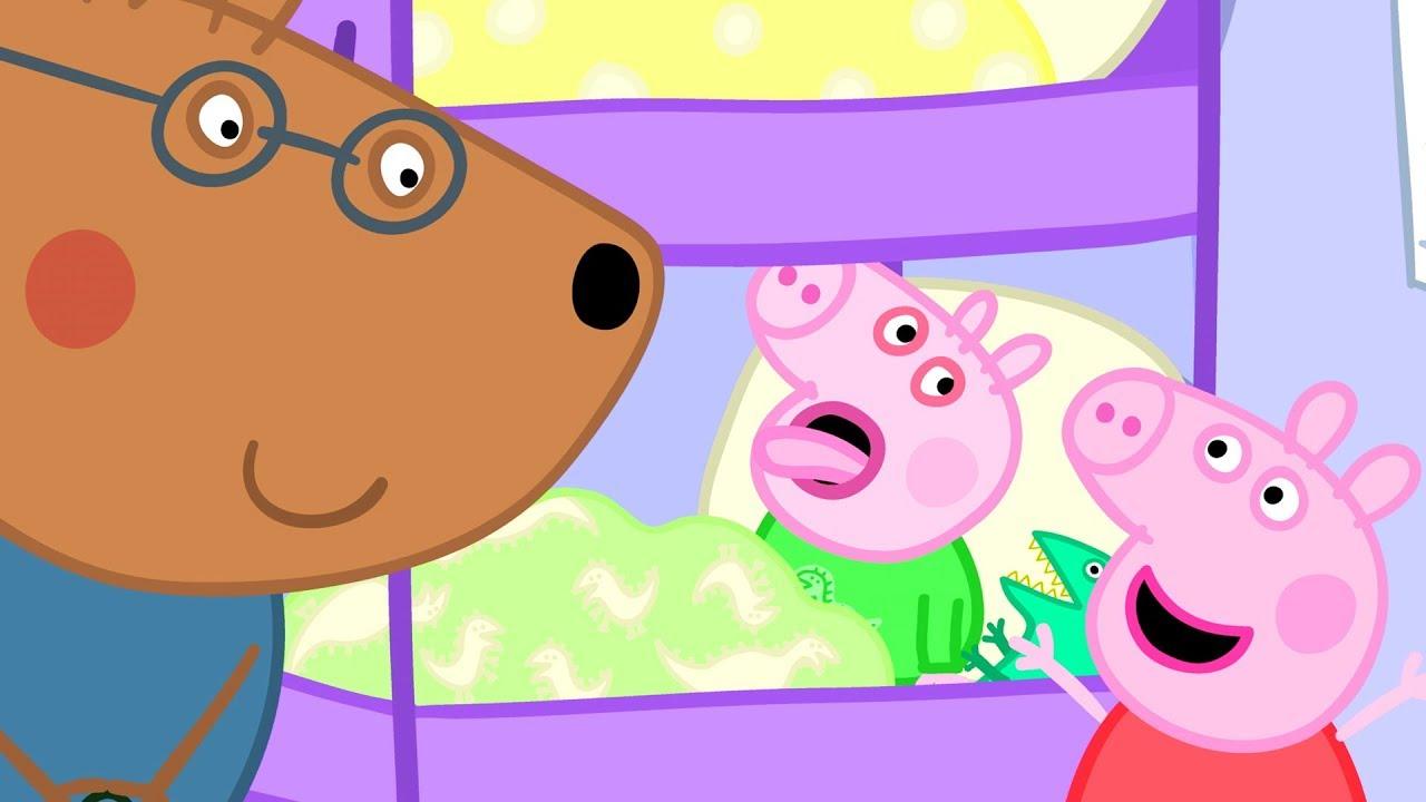 Peppa Pig Francais 3 Episodes George Attrape Un Rhume Dessin