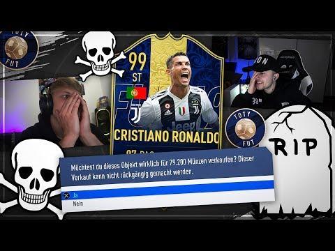 FIFA 19: TOTY RONALDO SQUAD BUILDER BATTLE......☠️☠️☠️ R.I.P. 💀💀💀
