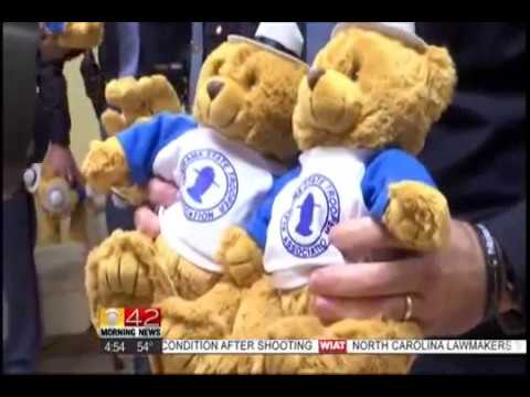 AL State Troopers Donate Teddy Bears to Homeless Kids