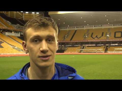 INTERVIEW | Krystian Bielik pleased to make an impact | Wolves 1-2 Birmingham City