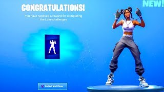 'NOUVEAU' GRATUIT! Niveau 100 EMOTE FIERCE..! (Showcase) Fortnite Bataille Royale