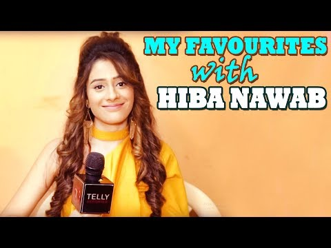 My Favourites With Hiba Nawab | Telly Reporter Exclusive | Bhaag Bakool Bhaag