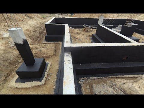 Budowa bez błędów - Cz. 8 - Jak wykonać izolację przeciwwilgociową fundamentu