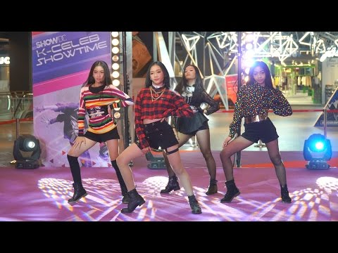 170226 บุษบา cover BLACKPINK - Intro + PLAYING WITH FIRE @ SHOW DC K-Pop Cover Dance (Audition)