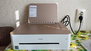Лазерний принтер Ricoh SP150w огляд та налаштування