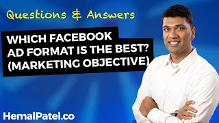 Which Facebook Ad Format Is The Best? (Marketing Objective)
