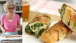 Pull-Apart Cheesy Pesto Bread - Everyday Food with Sarah Carey