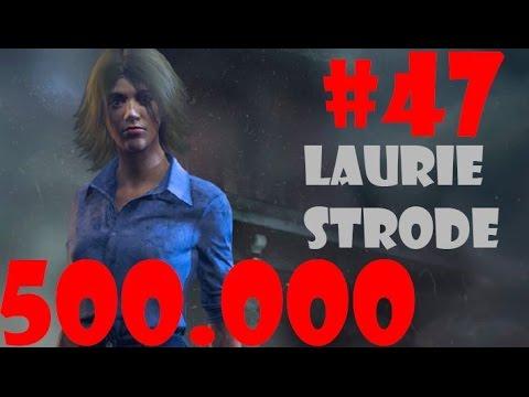 Gastando 500k puntos de sangre en Laurie Strode!! - Dead By Daylight #47 RANK 1 ESPAÑOL