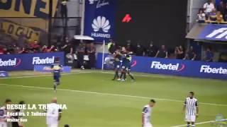 [Desde la tribuna] Los goles de Bou y Pablo Pérez vs. Talleres