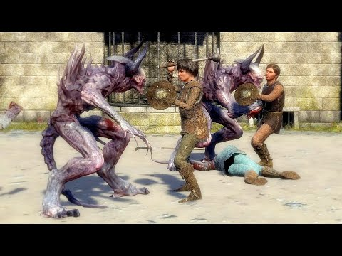 EXANIMA Faels Arena NPC Battles / Episode 21 |